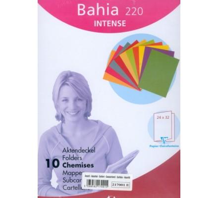 Chemises de couleur Bahia x 10