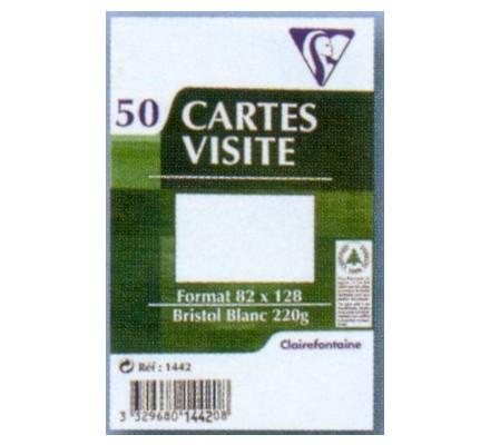 Cartes de visite x 50 - 82 x 128 mm