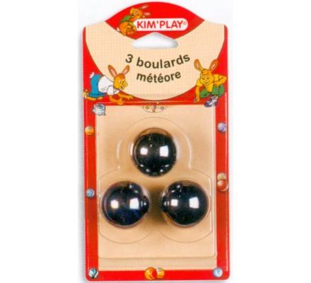 Boulards Météore x 3 Diam. 35 mm