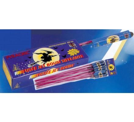 Fusées Jet Boum sifflantes x 12