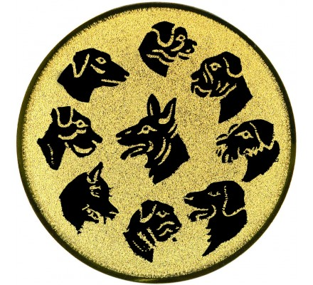 Centre chiens Diam. 25 mm