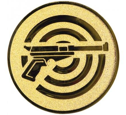 Centre tir au pistolet sur cible Diam. 25 mm