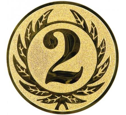 Centre victoire 2ème place Diam. 25 mm