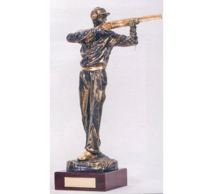 Trophée ball-trap 45 cm