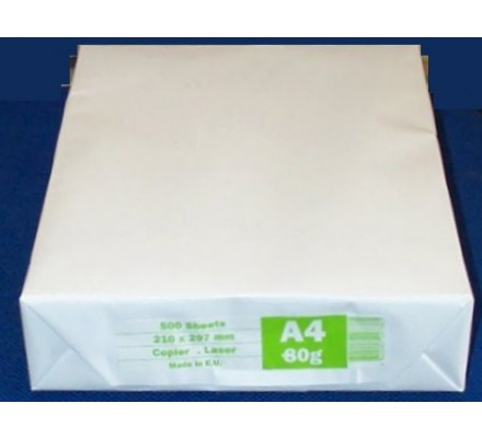 Ramette de 500 feuilles - papier A4
