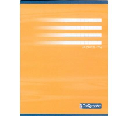 Cahier piqué 17x22 - 48 p - séyès