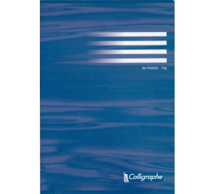 Cahier piqué A4 - 96 p - 5x5