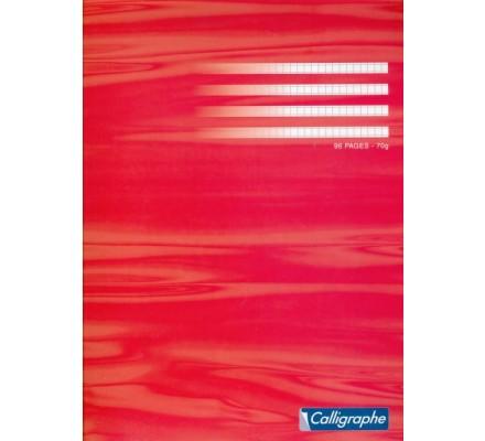 Cahier piqué 24x32 - 96 p - 5x5