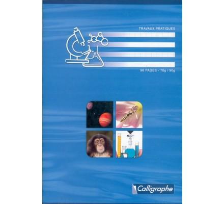 Cahier Travaux Pratiques A4 - 96 p - séyès