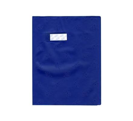 Protège-cahier 21x29,7 opaque Bleu