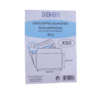 Enveloppes x 50 - 114 x 162 mm