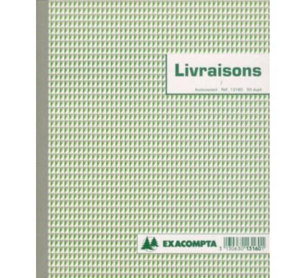 Carnet Livraisons - 50 dupli