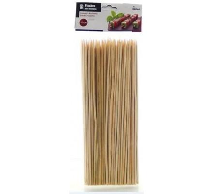 100 pique-brochettes en bois.
