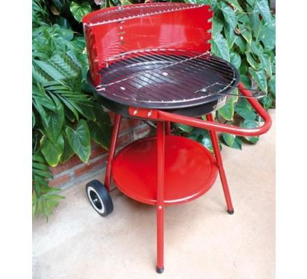 Barbecue acier rond