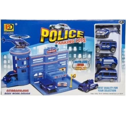 GARAGE POLICE 24 PIECES