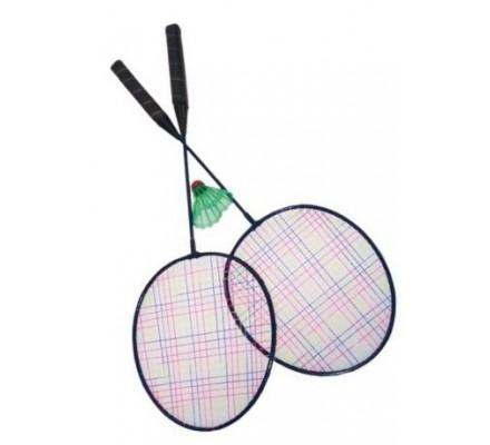 Jeu de badminton en plastique