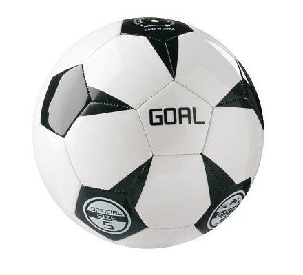 Ballon de foot en simili cuir