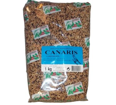 1 kg d'aliments pour canaris
