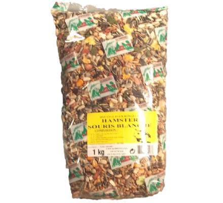 1 kg d'aliments pour hamsters / souris