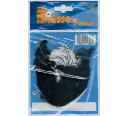 3 filets noirs invisibles pour cheveux