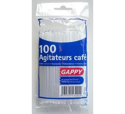 Agitateurs de café x 100