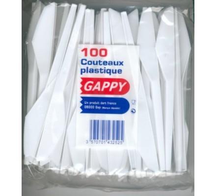 Couteaux en plastique x 100