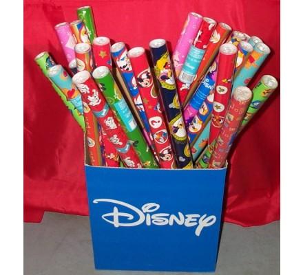 Papier cadeau décor Disney
