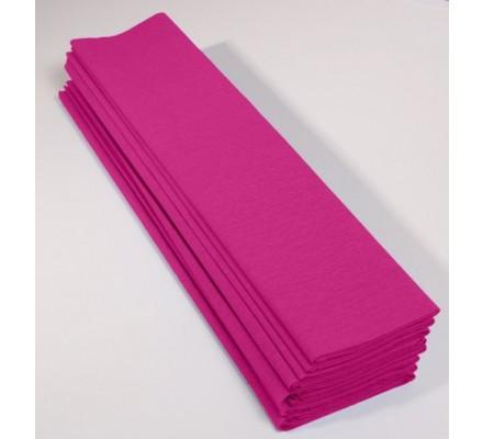 Papier crépon 40 % - 10 feuilles - Cyclamen