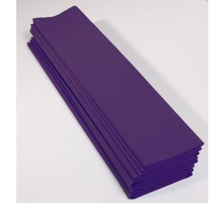 Papier crépon 40 % - 10 feuilles - Violet