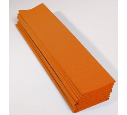Papier crépon 40 % - 10 feuilles - Jaune or