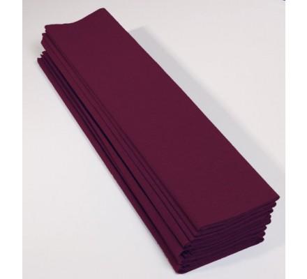 Papier crépon 40 % - 10 feuilles - Prune