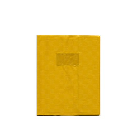 Protège-cahier opaque 21x29,7 Jaune