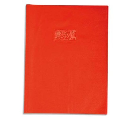 Protège-cahier opaque 17x22 Orange