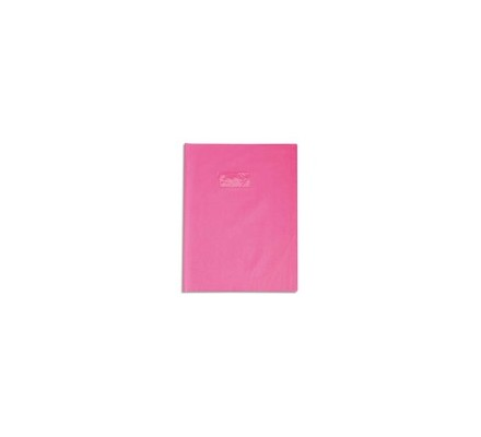 Protège-cahier opaque 17x22 Rose
