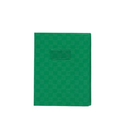 Protège-cahier opaque 17x22 Vert