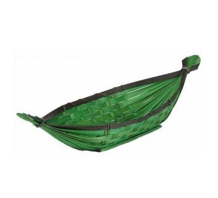 Gondole bambou vert / chocolat