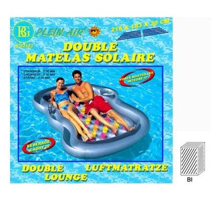 Double matelas de plage