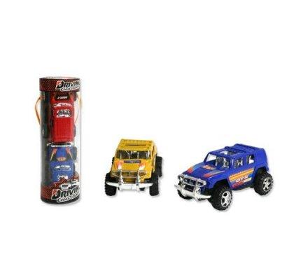 Autos 10 cm x 2 dans tubo