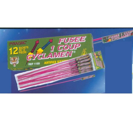 Fusées Cyclamen x 12