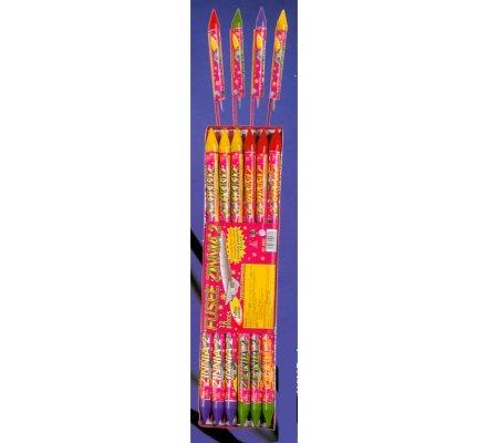Fusées Zinnia N°2  x 12