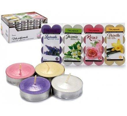 8 bougies parfumées