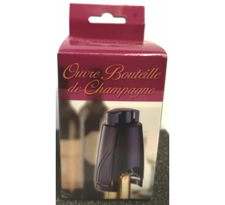 Ouvre-bouteille champagne
