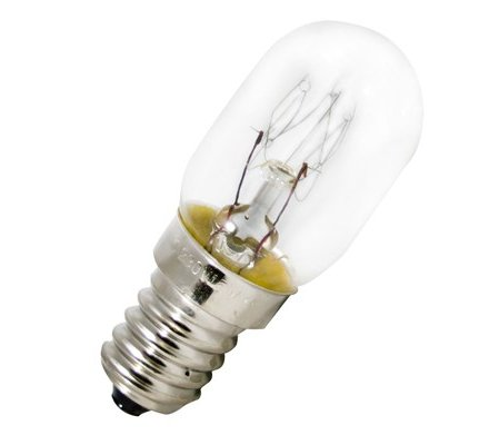 2 ampoules incandescentes frigo