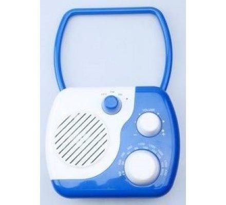 Poste radio pour la douche