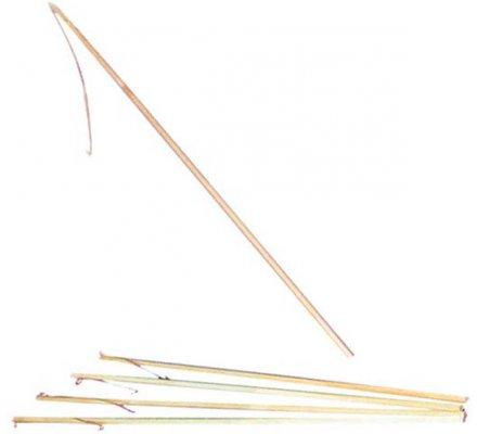 Bâton pour lampion avec attache