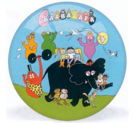 Balle Barbapapa / Diam. 140 mm