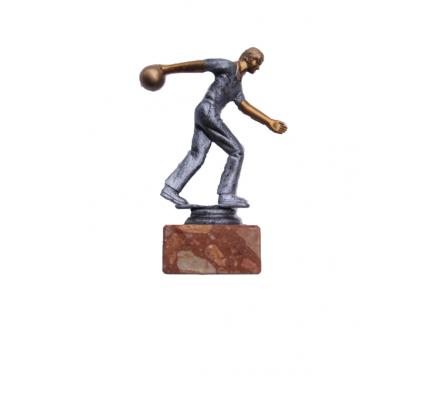 Trophée bowling homme 16 cm