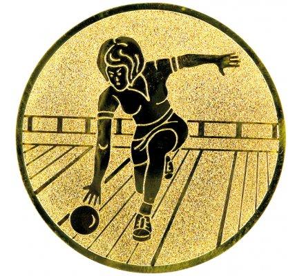 Centre bowling femme 25mm