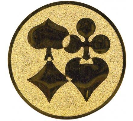 Centre jeu de cartes Diam. 25 mm