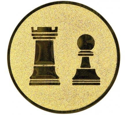 Centre jeu d'échecs Diam. 25 mm